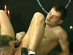 Gay monks fuck newcomer