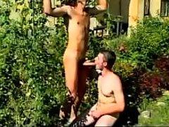 Firm booties gays outdoor