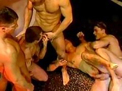 Gay group sexual deed