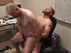 Matured gays pooch mcgee and david marx discover office place to bang in 5 episode