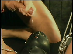 Gay leather and subjection fuck fest in 6 clip