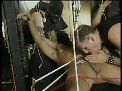 Gay leather and bondage fuck fest in 1 episode