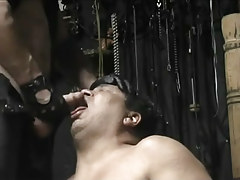 Chubby cock sucker lycan is desperate for a sticky jizz mouthful in 4 motion picture