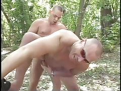 Grown gay fucking in the bright forest in 4 episode