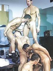 Marcus Iron::Karl Tenner::Nicholas Clay::Fernando Montana::Blake Harper in Gay XXX Pics