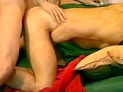 Teen twinks have a fun anal sex