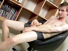 Wanking With New Hung Twink Cory - Cory Finn