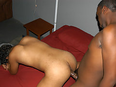 college darkish fruits have fun anal sexual act on the party