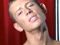 Spoiled twinks play oral show in unconventional love making act theatre