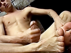Hung Twinks Savoury Foot Load - Phillip Ashton