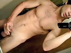 POV Cock Stroking In The Bathroom - Zack Randall