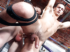 Hung Luke Wanked And Fucked - Luke Desmond And Sean McKenzie