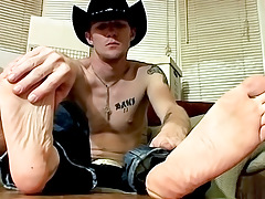 Cowboy Feet And Dick Stroking! - Ty And Lee Barstow