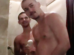 Showering Str8 Chaps - Brian And Blaze