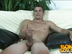 SBJO - Johnny Irish Plays with his big cock