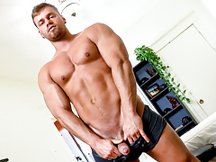 Brad, Bigger This chab Cums, Scene 01
