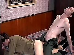 Gay guys spunk mightily after anal sexual action