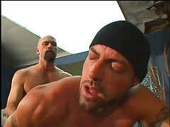 The boss gets a stiff ass fucking in 5 movie