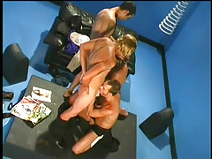 Four marvelous gay guys in group sex in 2 episode