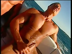 Twofold gentlemen fucking and sucking on a boat in 6 episode