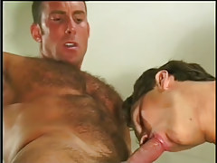 Hot navy guy getting taste of cock in 4 episode