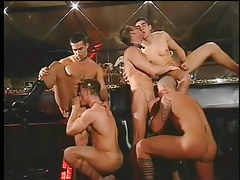Gay club drinking party turns attracted to massive knob orgy in 2 episode