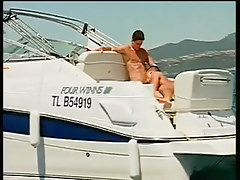 Two guys fucking and sucking on a boat in 2 episode