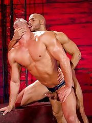 In jock straps that accent the curves of their muscled asses, Ryan Rose and Sean Zevran explore all the time other's bodies with their hands and tongues.