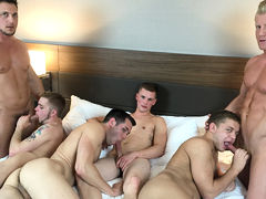 American Muscle Hunks & Jason Sparks Real time 4th of July Extraordinary