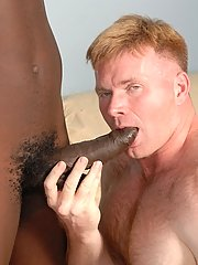 Interracial fruit porn