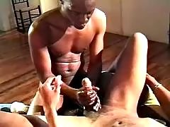 Sexually aroused shady men fuck brains out
