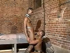 Black twink widens for massive weenie