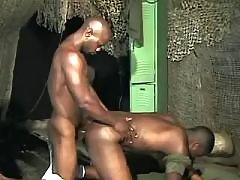 Dark man-lover taking good anal reaming