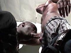 Harsh gangsta faggots make steamy anal