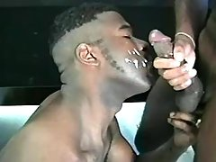 Lascivious black gays have benefit from it erect