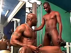Darksome twink gets heavy ass nailing