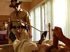 Fresh policeman looks enjoy a properly ought to wank