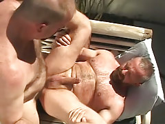 Unshaved man-lover boys intense fuck outdoor