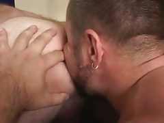 Bear gay licks out hairy dudes break