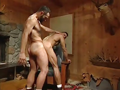 gay chaps hard fuck in doggy style