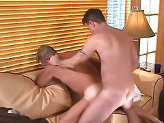 Nasty dilf fucks mature boyfriend behind