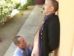 Bear mature man-lover sucked by lustful dilf