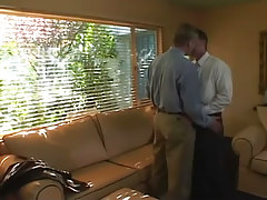 Mature man-lovers kiss all the time other afterward work