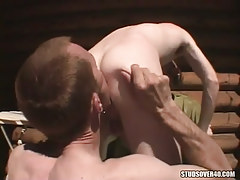 Ache homo licking males a-hole on tearrace