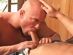 Sexy homo sucking sweet jock