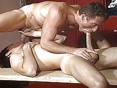 Scott skates his huge cock up Dean's ass pumping him hard !