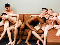 Fellatio Fest Party! The Boys Are Switching Sucking Partners