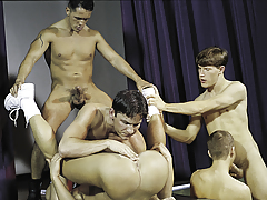 duo in the having benefit from for a final fuckfest highlighted by huge cocks!